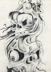 Skulls by QuaZeroy