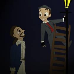 Alexander Meets Jack by Hyzenthlay-Rose
