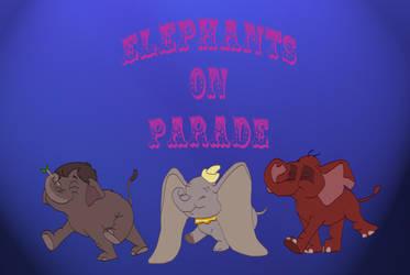 Elephants on Parade by Hyzenthlay-Rose