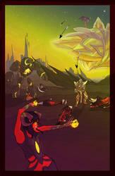 Light against Legion by Jaydenwolf