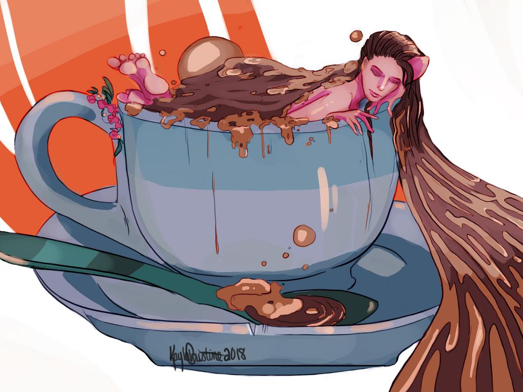 Caffeine Dream by Jaydenwolf