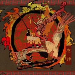 Rising Blaze by cdblue