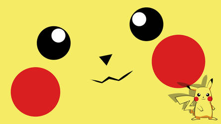 Pikachu wallpaper by nirufe