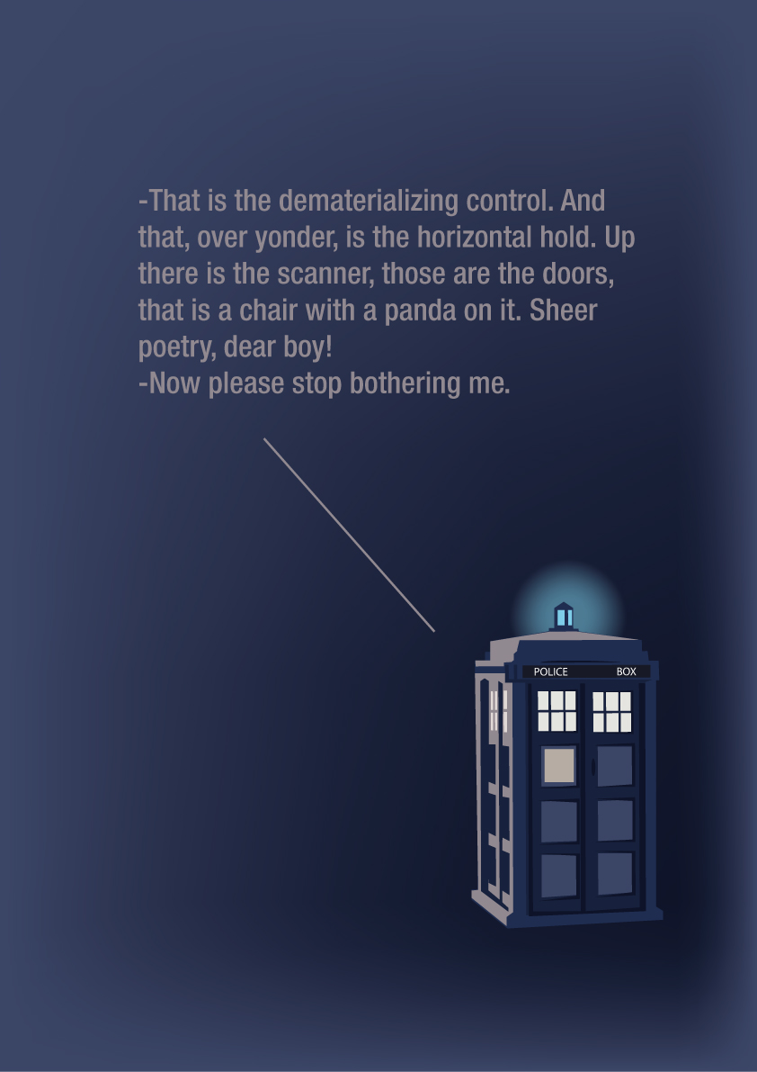 First Doctor Quote by nirufe on DeviantArt
