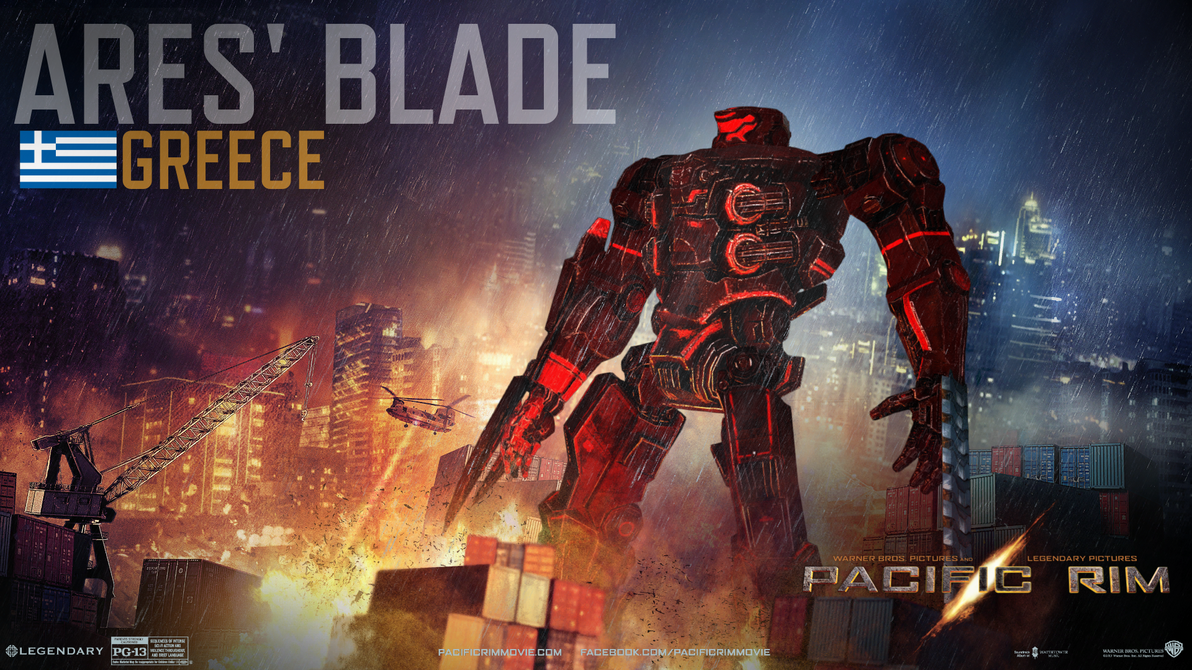 Pacific Rim - Jaeger: Ares' Blade by IzaakGrey