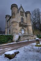 Chateau de la Reine Blanche... by mightyatomphoto