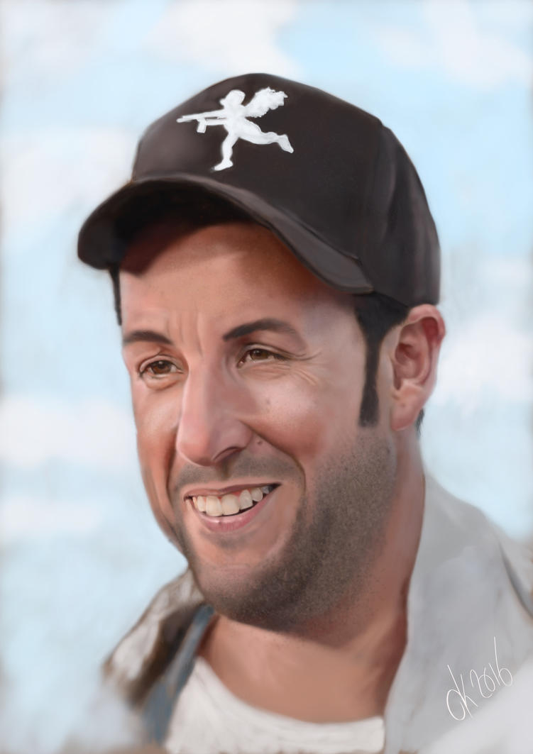 Adam Sandler by dannykohn
