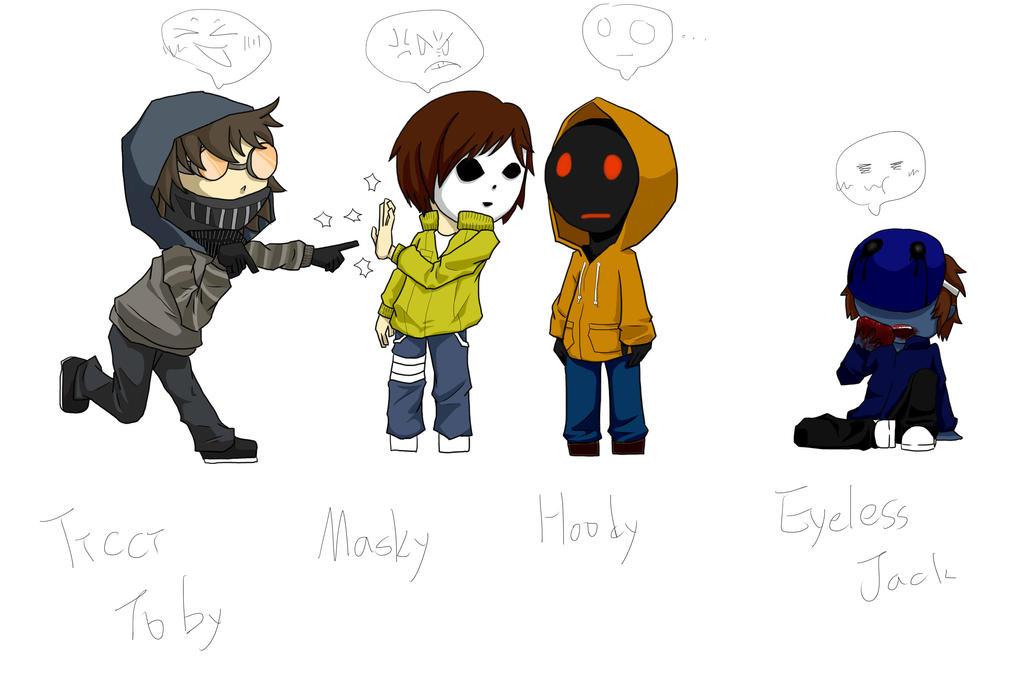 The gallery for --> Masky Creepypasta Minecraft Skin