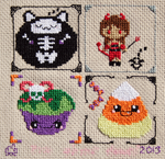 Small Halloween Sampler
