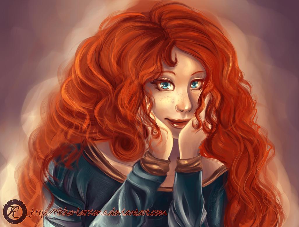 Merida - Brave by ScarlettIwater