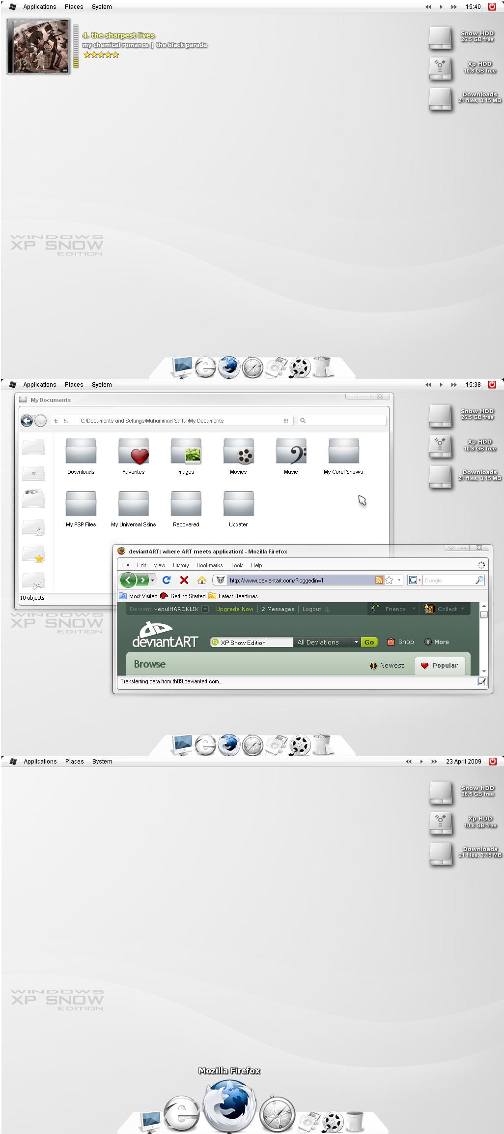 Windows Xp Snow Edition by epulHARDKLIK