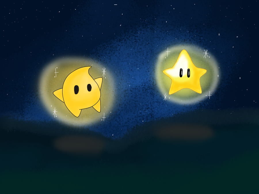 power star super mario galaxy - photo #22