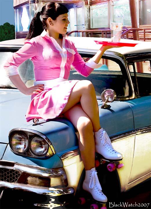 Black girl drive corvette stingray 8