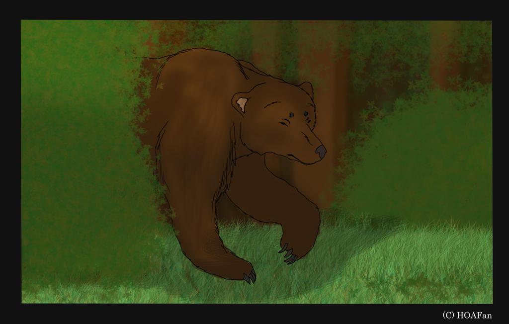 Gierra load screen 2 (Bear) by HOAFan