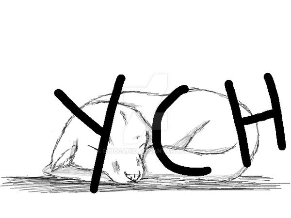 (Storybook YCH) Sleepy canine/vulpine by HOAFan