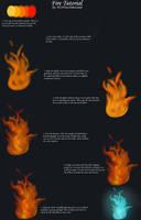Fire Tutorial (Digital) by Dinocanid