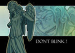 Weeping Angel. Don't Blink