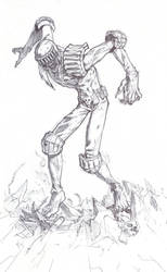Judge Death - Line 1 by KeanKennedy
