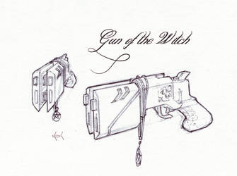 Gun of the Witch - Drawing