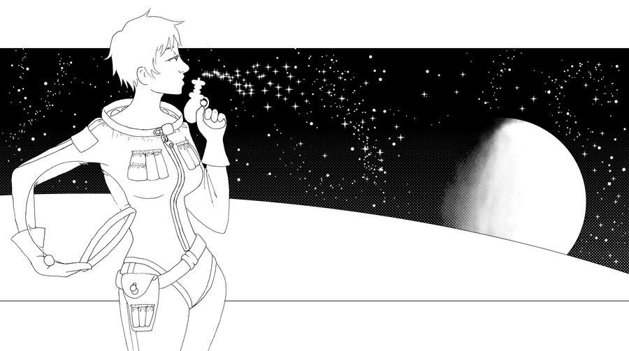 Space contest by squidlarkin