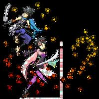 Kisuke and Momohime