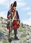 Kingdom of Sardinia-Guards Regiment Grenadier 1750