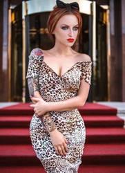 She's love her leopard print xxx