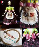 Alice Madness Return Custom OOAK Doll Stage 4