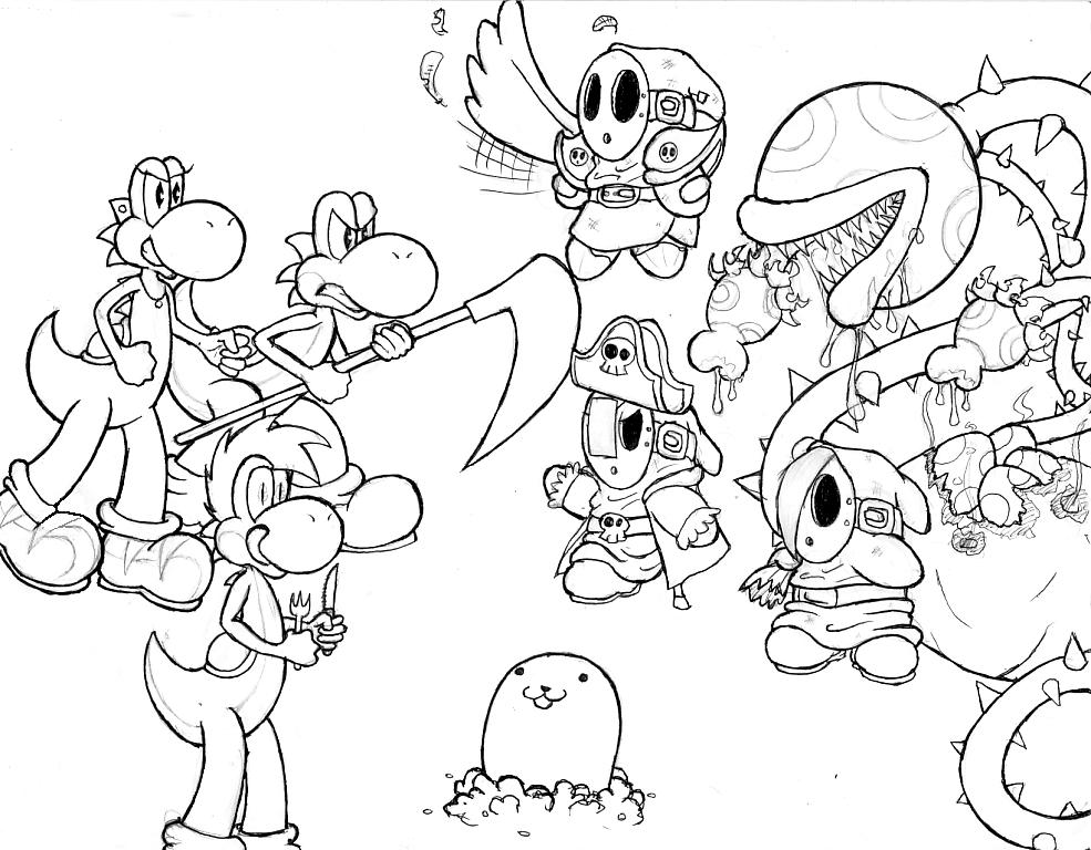 I Love Mario Fan Characters 2 By Geopyro On Deviantart