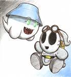 Boo x Shy Guy 1
