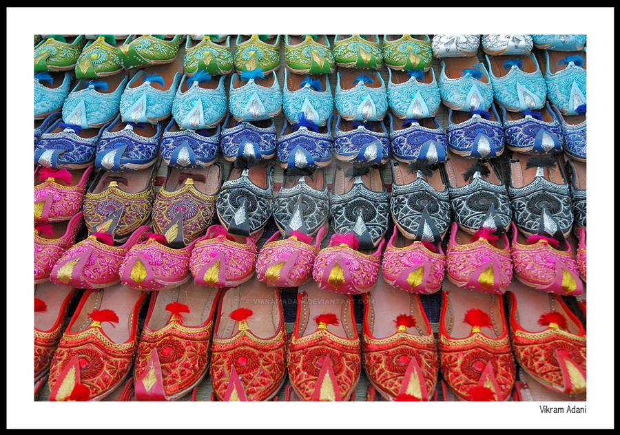 Flea Market Shoe Sales