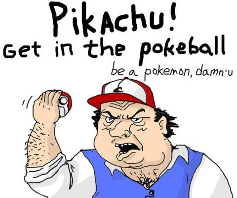 Be a Pokemon