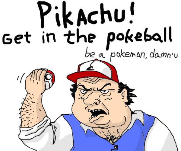 Be a Pokemon by Riolu-Pokemon