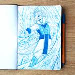 +++Ice Guardian+++ by AkiDragonManga