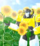 Sunstreaker and sunflower