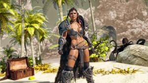 Beach Barbarian by armieri