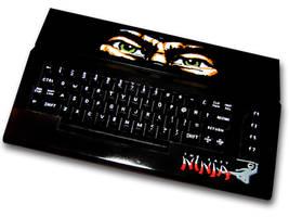 The Last Ninja C64 Casepainting by Ernie76