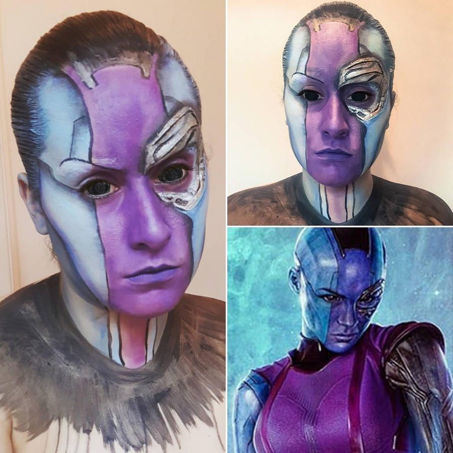 gardians nebula face - photo #8