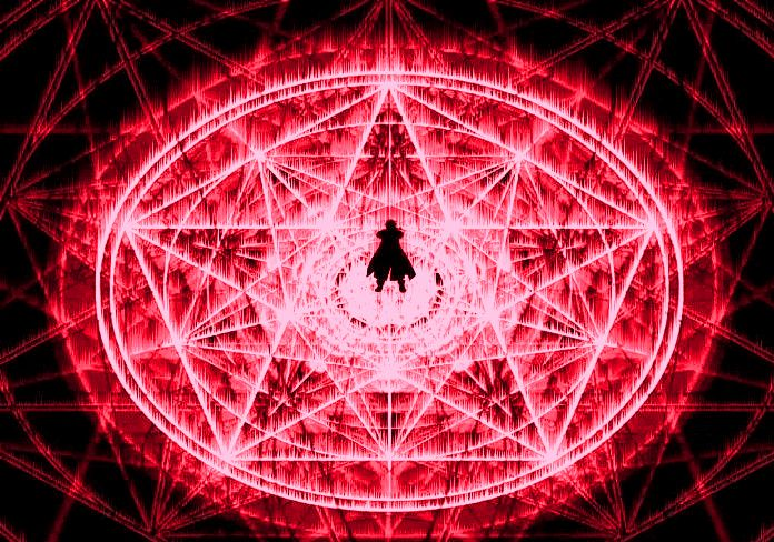 Transmutation Circle BFullmetal Alchemist Brotherhood Alchemy Circles