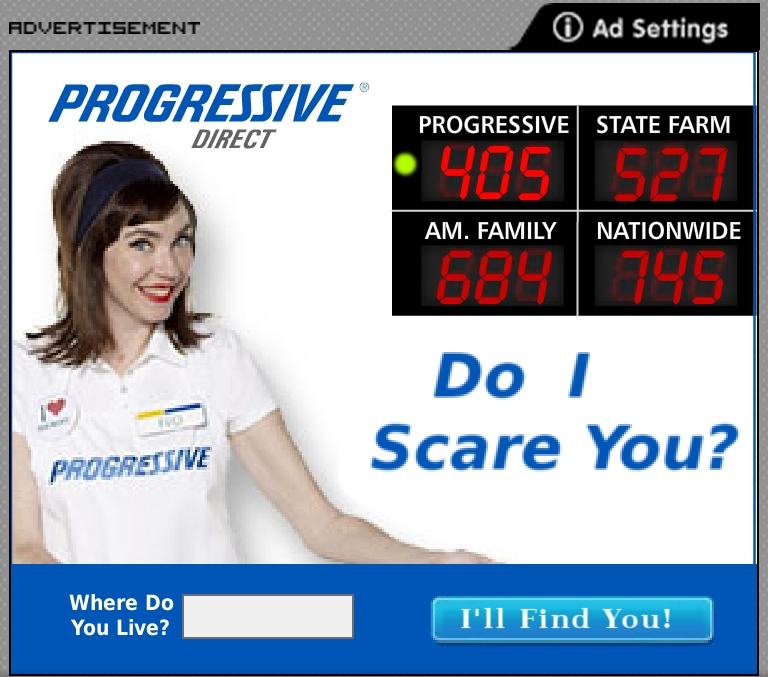 Comical progressive 39 flo 39 ad by krissilver on deviantart - Flo progressive wallpaper ...