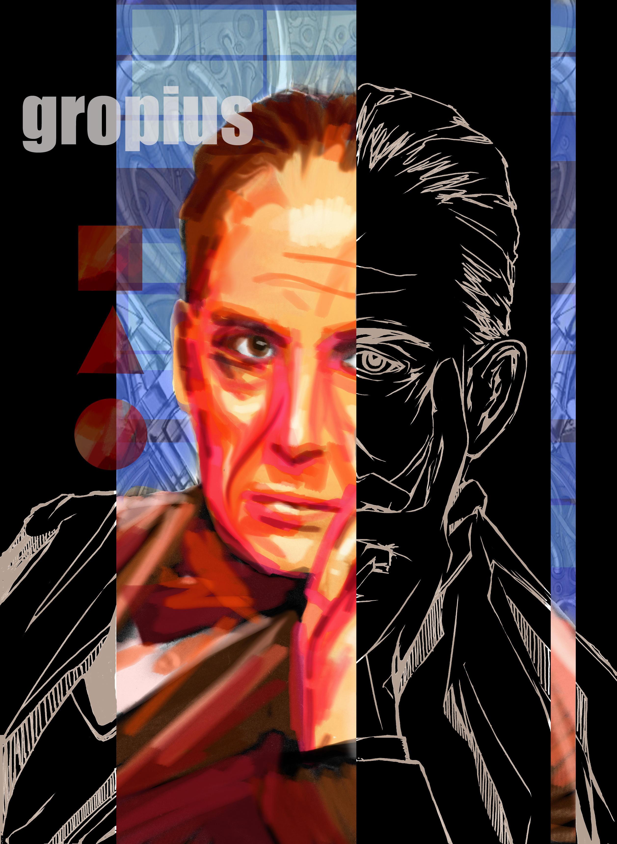 walter gropius by nix---Walter Gropius Art