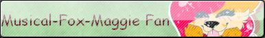 Musical-fox-maggie Fan Button by StantheGamingdog