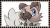 Rockruff fan stamp 3 by StantheGamingdog