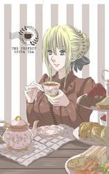 Tea aesthetic by ha-kim
