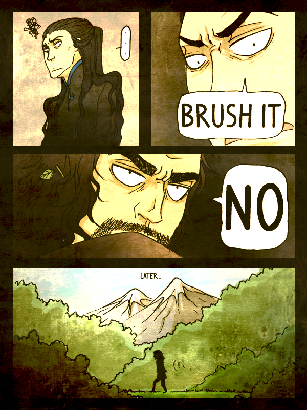 Drama in Doriath pg.2 by remonpop