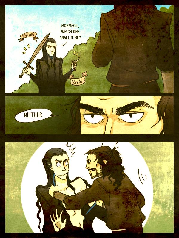 Drama in Doriath pg.3 by remonpop