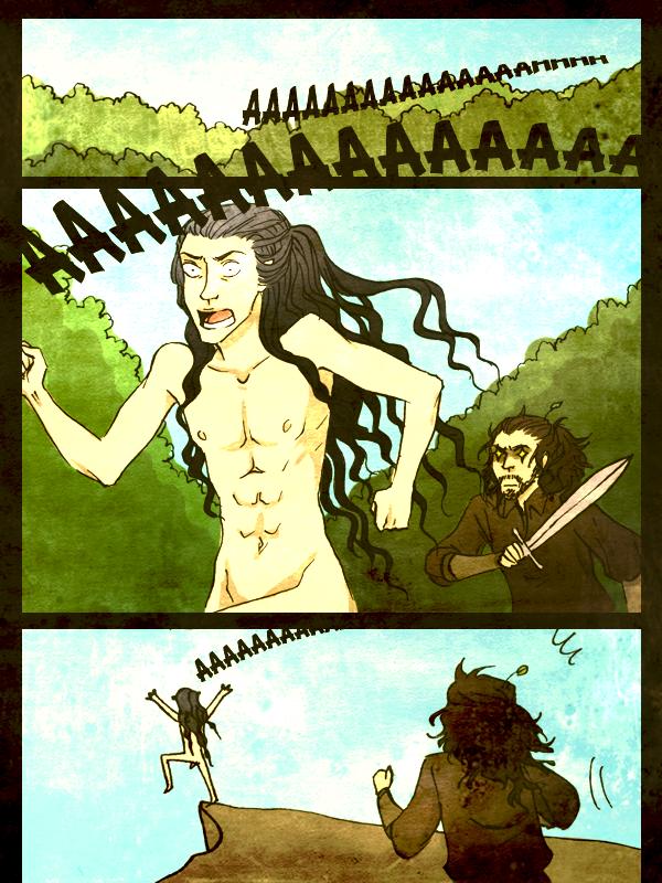 Drama in Doriath pg.5 by remonpop