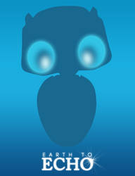 Earth to Echo Minimalist Poster
