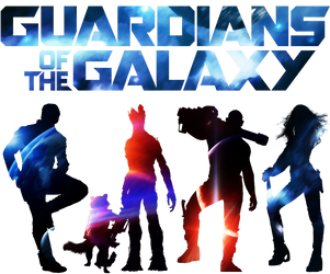 Guardians of the Galaxy by mercscilla