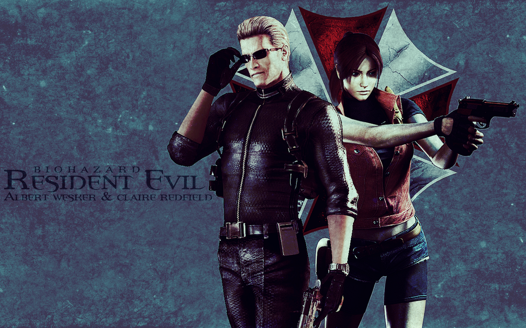 Resident Evil - Albert Wesker/Claire Redfield by mercscilla
